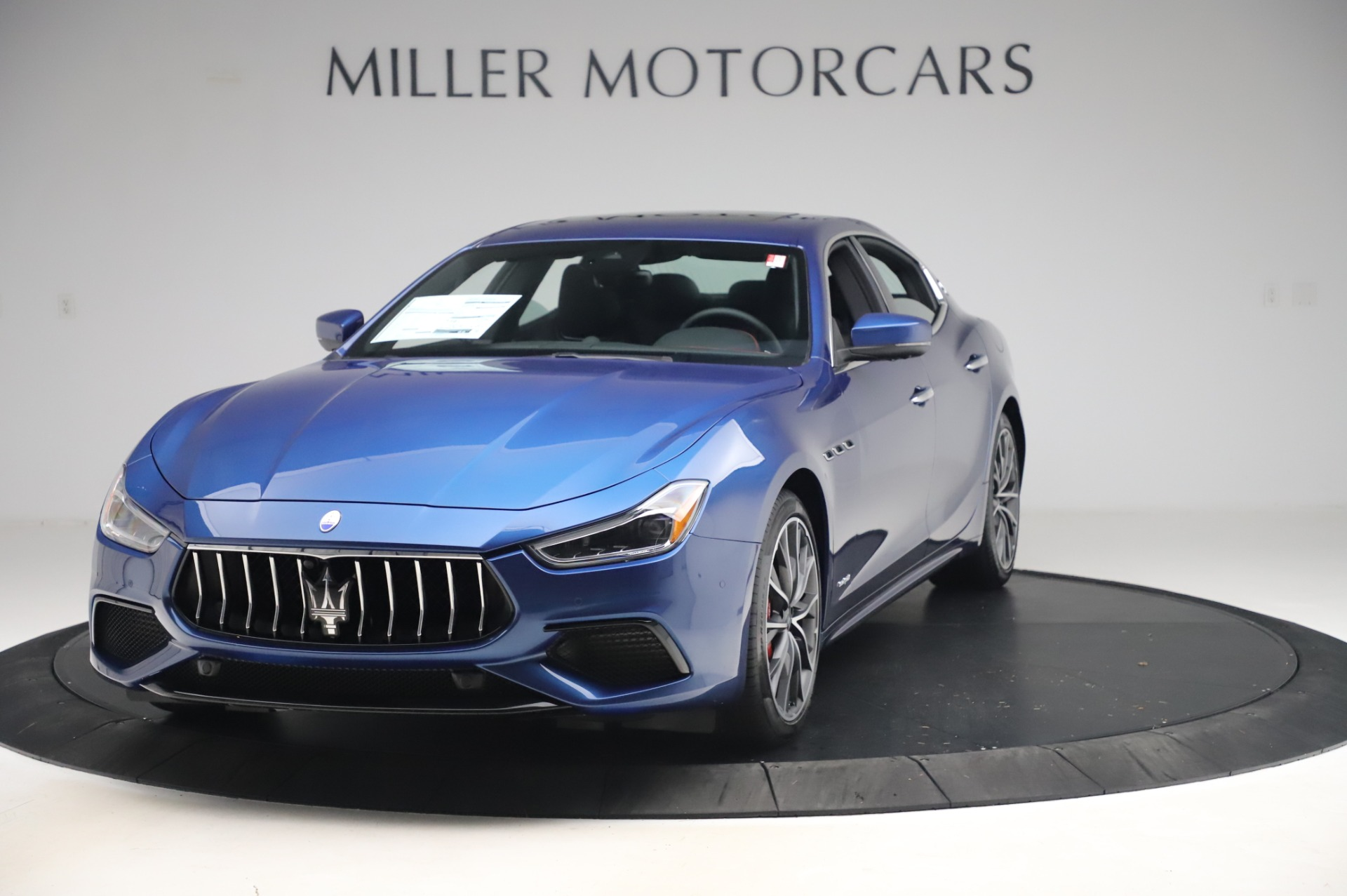 New 2020 Maserati Ghibli S Q4 GranSport for sale $94,935 at Aston Martin of Greenwich in Greenwich CT 06830 1
