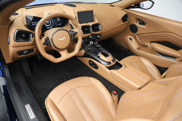 New 2021 Aston Martin Vantage Roadster for sale Call for price at Aston Martin of Greenwich in Greenwich CT 06830 13