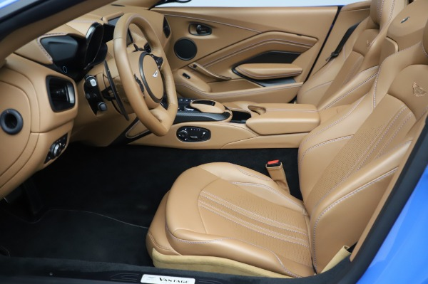 New 2021 Aston Martin Vantage Roadster for sale Call for price at Aston Martin of Greenwich in Greenwich CT 06830 14