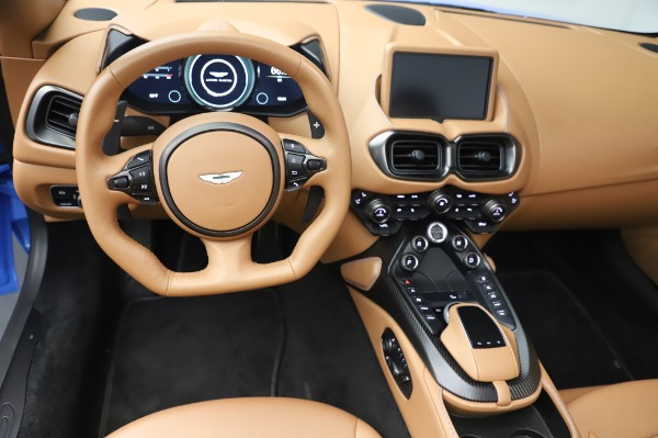 New 2021 Aston Martin Vantage Roadster for sale Call for price at Aston Martin of Greenwich in Greenwich CT 06830 17