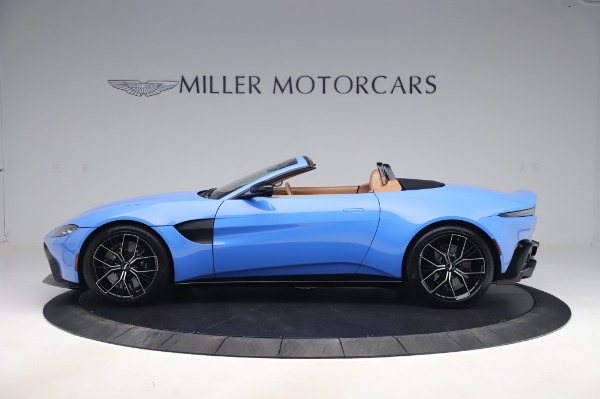 New 2021 Aston Martin Vantage Roadster for sale Call for price at Aston Martin of Greenwich in Greenwich CT 06830 2