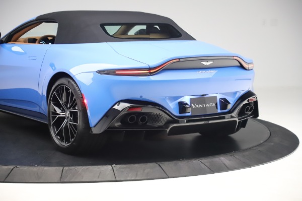New 2021 Aston Martin Vantage Roadster for sale Call for price at Aston Martin of Greenwich in Greenwich CT 06830 25