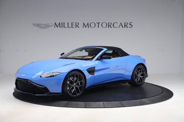 New 2021 Aston Martin Vantage Roadster for sale Call for price at Aston Martin of Greenwich in Greenwich CT 06830 26