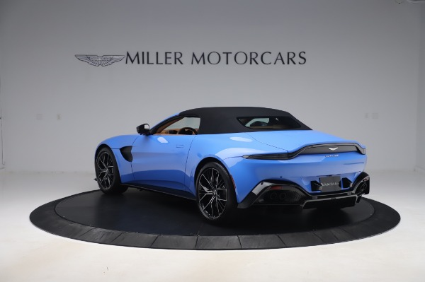 New 2021 Aston Martin Vantage Roadster for sale Call for price at Aston Martin of Greenwich in Greenwich CT 06830 28
