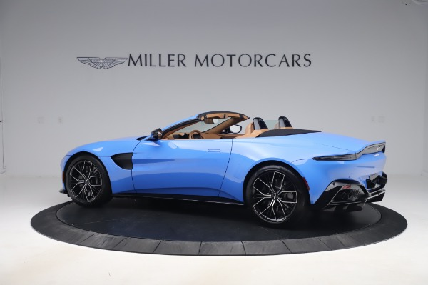 New 2021 Aston Martin Vantage Roadster for sale Call for price at Aston Martin of Greenwich in Greenwich CT 06830 3
