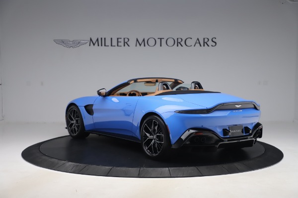 New 2021 Aston Martin Vantage Roadster for sale Call for price at Aston Martin of Greenwich in Greenwich CT 06830 4