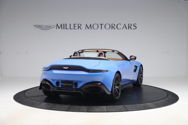 New 2021 Aston Martin Vantage Roadster for sale Call for price at Aston Martin of Greenwich in Greenwich CT 06830 6