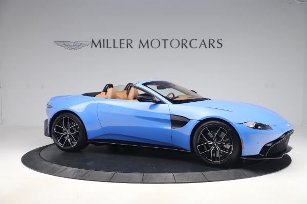 New 2021 Aston Martin Vantage Roadster for sale Call for price at Aston Martin of Greenwich in Greenwich CT 06830 9