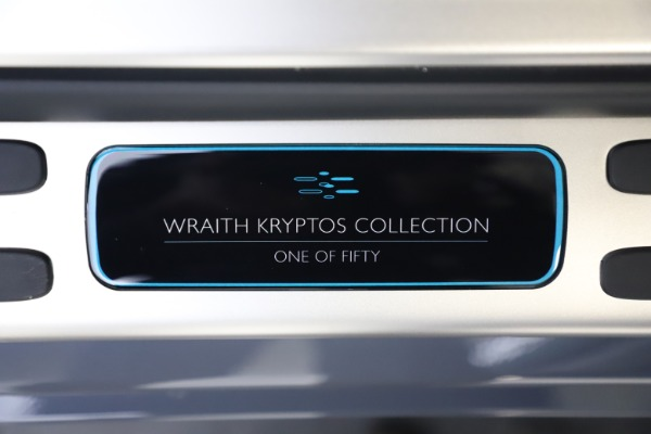 New 2021 Rolls-Royce Wraith KRYPTOS for sale Sold at Aston Martin of Greenwich in Greenwich CT 06830 26
