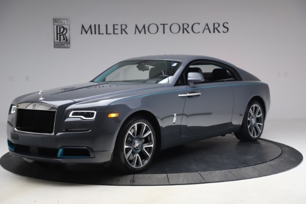 New 2021 Rolls-Royce Wraith KRYPTOS for sale Sold at Aston Martin of Greenwich in Greenwich CT 06830 3