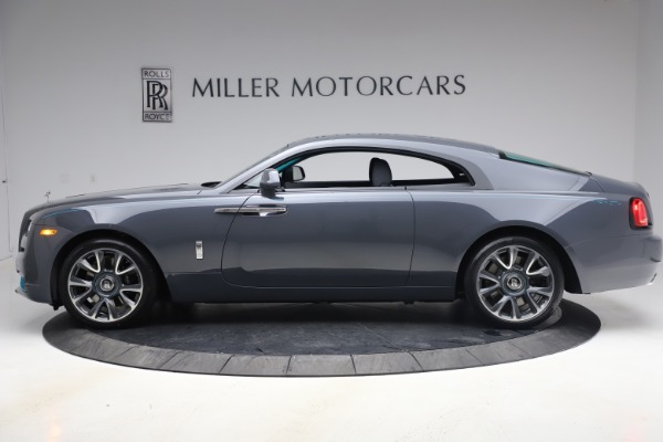 New 2021 Rolls-Royce Wraith KRYPTOS for sale Sold at Aston Martin of Greenwich in Greenwich CT 06830 4