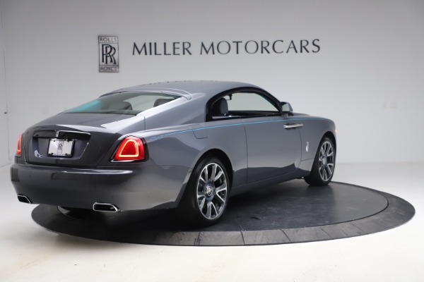 New 2021 Rolls-Royce Wraith KRYPTOS for sale Sold at Aston Martin of Greenwich in Greenwich CT 06830 9