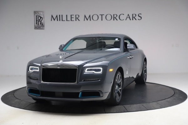 New 2021 Rolls-Royce Wraith KRYPTOS for sale Sold at Aston Martin of Greenwich in Greenwich CT 06830 1