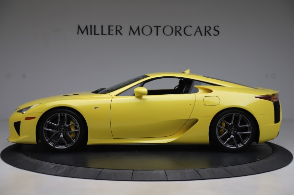 Used 2012 Lexus LFA for sale Sold at Aston Martin of Greenwich in Greenwich CT 06830 3