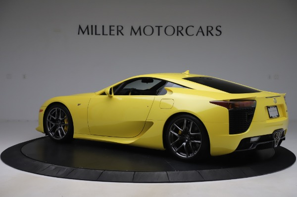 Used 2012 Lexus LFA for sale Sold at Aston Martin of Greenwich in Greenwich CT 06830 4
