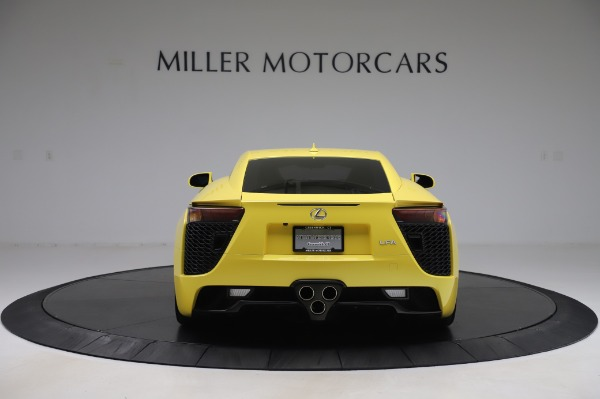 Used 2012 Lexus LFA for sale Sold at Aston Martin of Greenwich in Greenwich CT 06830 6