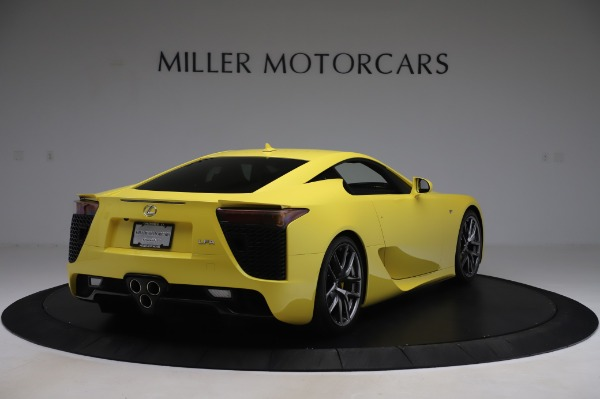 Used 2012 Lexus LFA for sale $509,900 at Aston Martin of Greenwich in Greenwich CT 06830 7