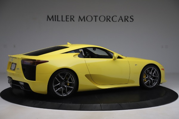 Used 2012 Lexus LFA for sale Sold at Aston Martin of Greenwich in Greenwich CT 06830 8