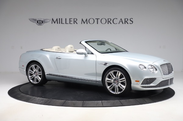 Used 2017 Bentley Continental GTC V8 for sale $156,900 at Aston Martin of Greenwich in Greenwich CT 06830 10