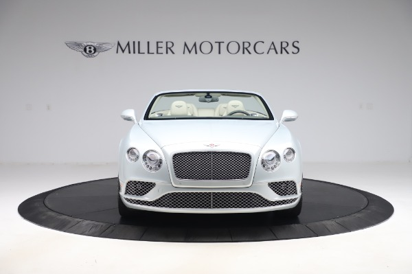 Used 2017 Bentley Continental GTC V8 for sale $156,900 at Aston Martin of Greenwich in Greenwich CT 06830 12