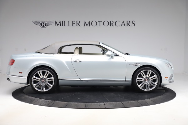Used 2017 Bentley Continental GTC V8 for sale $156,900 at Aston Martin of Greenwich in Greenwich CT 06830 17