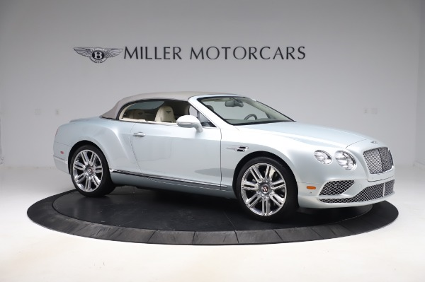 Used 2017 Bentley Continental GTC V8 for sale $156,900 at Aston Martin of Greenwich in Greenwich CT 06830 18
