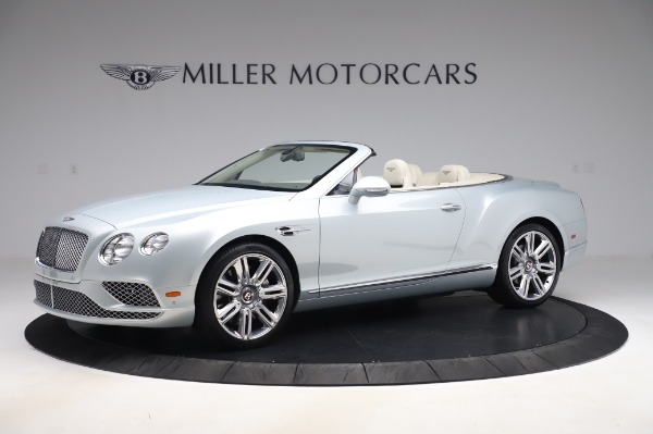 Used 2017 Bentley Continental GTC V8 for sale $156,900 at Aston Martin of Greenwich in Greenwich CT 06830 2