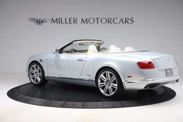 Used 2017 Bentley Continental GTC V8 for sale $156,900 at Aston Martin of Greenwich in Greenwich CT 06830 4