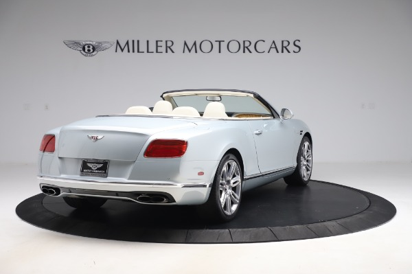 Used 2017 Bentley Continental GTC V8 for sale $156,900 at Aston Martin of Greenwich in Greenwich CT 06830 7