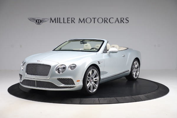 Used 2017 Bentley Continental GTC V8 for sale $156,900 at Aston Martin of Greenwich in Greenwich CT 06830 1