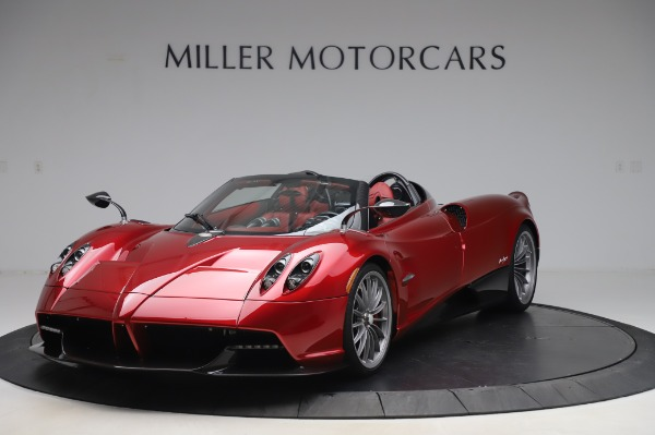 Used 2017 Pagani Huayra Roadster for sale Call for price at Aston Martin of Greenwich in Greenwich CT 06830 2