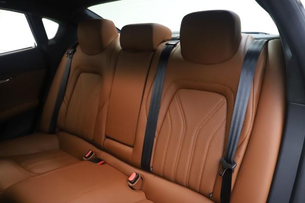 Used 2017 Maserati Quattroporte S Q4 GranLusso for sale Sold at Aston Martin of Greenwich in Greenwich CT 06830 18