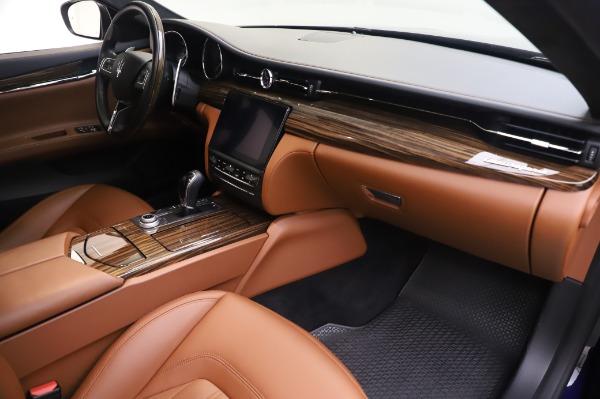Used 2017 Maserati Quattroporte S Q4 GranLusso for sale Sold at Aston Martin of Greenwich in Greenwich CT 06830 21