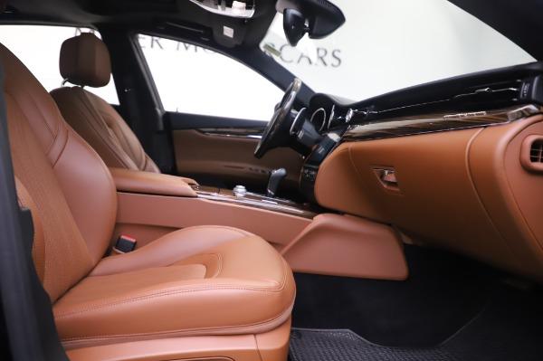 Used 2017 Maserati Quattroporte S Q4 GranLusso for sale Sold at Aston Martin of Greenwich in Greenwich CT 06830 22