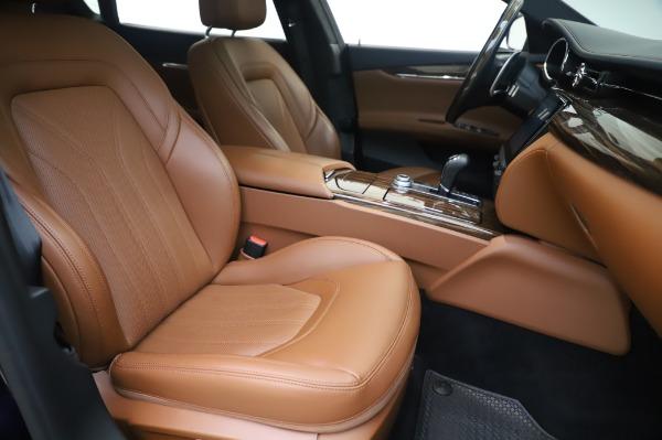 Used 2017 Maserati Quattroporte S Q4 GranLusso for sale Sold at Aston Martin of Greenwich in Greenwich CT 06830 23