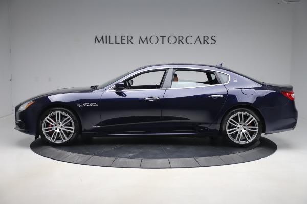 Used 2017 Maserati Quattroporte S Q4 GranLusso for sale Sold at Aston Martin of Greenwich in Greenwich CT 06830 3