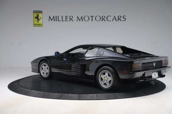 Used 1991 Ferrari Testarossa for sale $129,900 at Aston Martin of Greenwich in Greenwich CT 06830 4