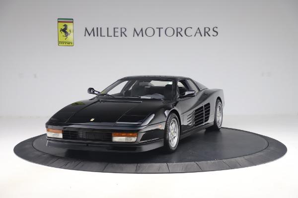 Used 1991 Ferrari Testarossa for sale $129,900 at Aston Martin of Greenwich in Greenwich CT 06830 1