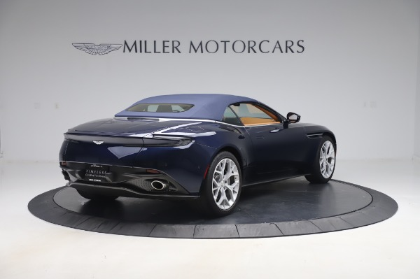 Used 2019 Aston Martin DB11 Volante Convertible for sale $198,900 at Aston Martin of Greenwich in Greenwich CT 06830 23