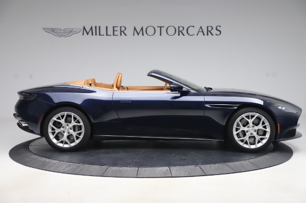 Used 2019 Aston Martin DB11 Volante Convertible for sale $198,900 at Aston Martin of Greenwich in Greenwich CT 06830 8