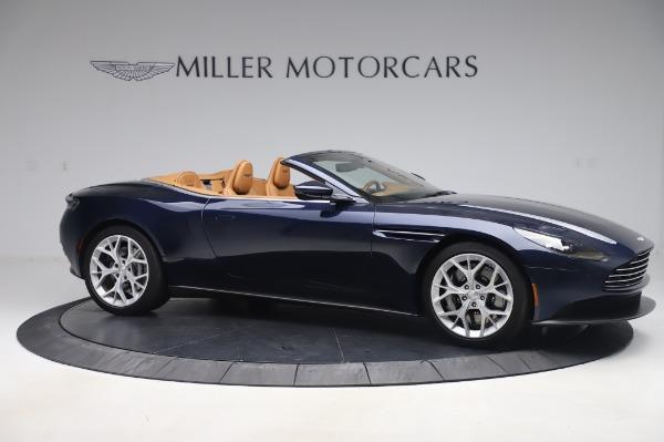 Used 2019 Aston Martin DB11 Volante Convertible for sale $198,900 at Aston Martin of Greenwich in Greenwich CT 06830 9