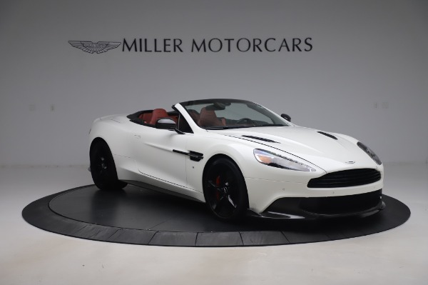Used 2018 Aston Martin Vanquish S Volante for sale $193,900 at Aston Martin of Greenwich in Greenwich CT 06830 10