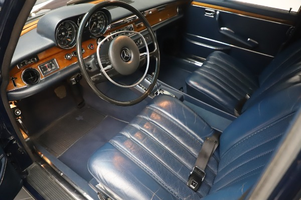 Used 1971 Mercedes-Benz 300 SEL 6.3 for sale $117,000 at Aston Martin of Greenwich in Greenwich CT 06830 13