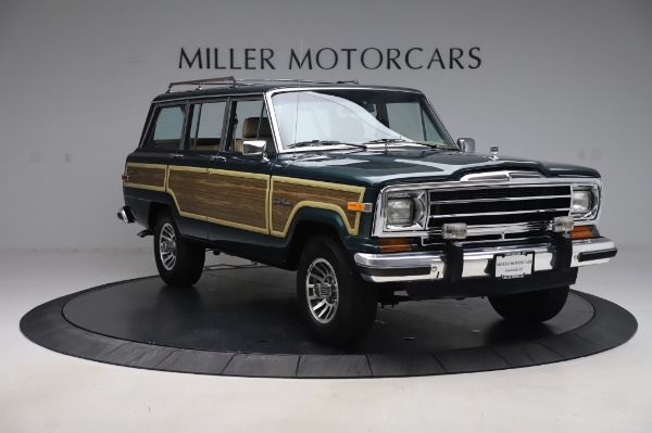 Used 1991 Jeep Grand Wagoneer for sale Call for price at Aston Martin of Greenwich in Greenwich CT 06830 11