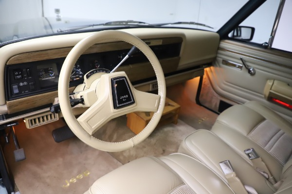 Used 1991 Jeep Grand Wagoneer for sale Call for price at Aston Martin of Greenwich in Greenwich CT 06830 12