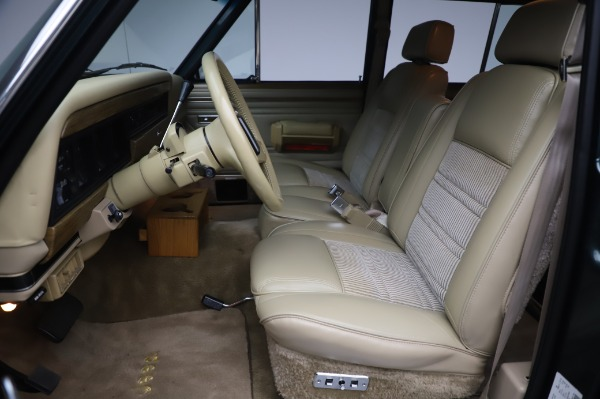 Used 1991 Jeep Grand Wagoneer for sale Call for price at Aston Martin of Greenwich in Greenwich CT 06830 13