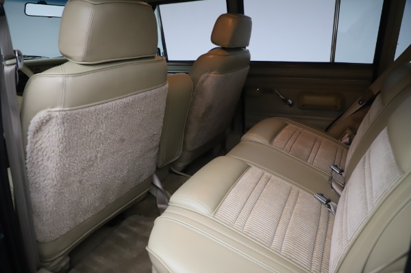 Used 1991 Jeep Grand Wagoneer for sale Call for price at Aston Martin of Greenwich in Greenwich CT 06830 15