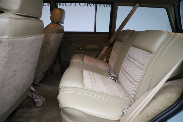 Used 1991 Jeep Grand Wagoneer for sale Call for price at Aston Martin of Greenwich in Greenwich CT 06830 16