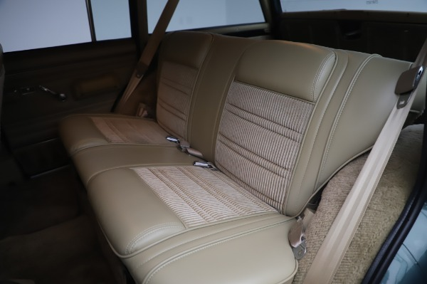 Used 1991 Jeep Grand Wagoneer for sale Call for price at Aston Martin of Greenwich in Greenwich CT 06830 17