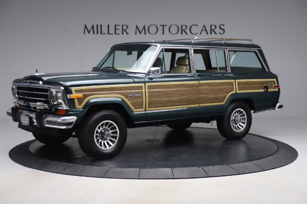 Used 1991 Jeep Grand Wagoneer for sale Call for price at Aston Martin of Greenwich in Greenwich CT 06830 2